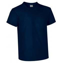 Camiseta VALENTO Moon Cuello Pico con Bolsillo
