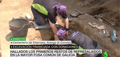 Los polos que hemos realizado para ARDF DESAPARECIDOS salen en La Sexta